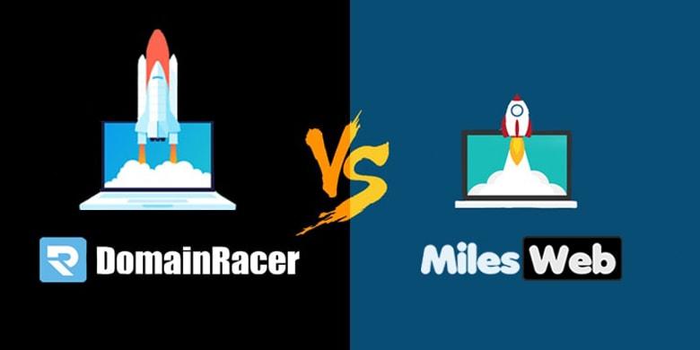 milesweb vs domainracer differeence