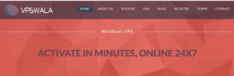 free vps server hosting company