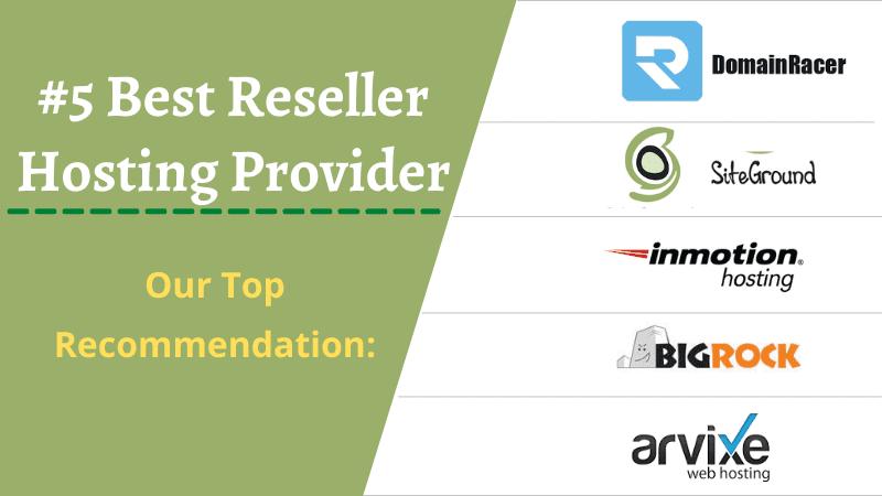 best white label reseller hosting providers